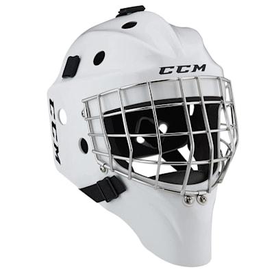 White (CCM 1.5 Goalie Mask - Senior)