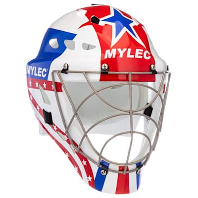 (Mylec Ultra Pro II Street Hockey Goal Mask - Patriot)