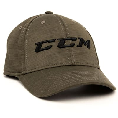 Army Green (CCM Tech Structured Flex Fit Hat - Adult)