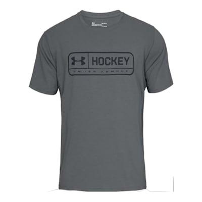 Front (Under Armour Hockey Jock Tag Short Sleeve Tee Shirt - Mens)