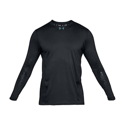 (Under Armour Fitted Hockey Grippy Long Sleeve Shirt - Adult)
