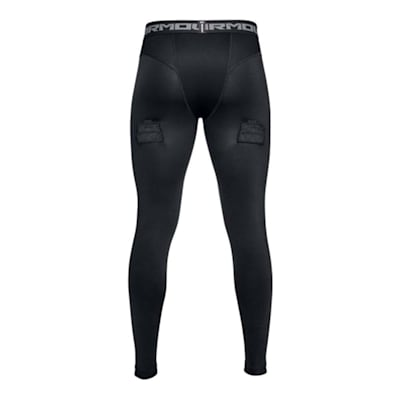 Back (Under Armour Hockey Compression Jock Leggings - Mens)