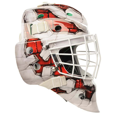 (Bauer NME4  Wall Decal Goalie Mask - Senior)