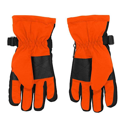 Back (Adidas Nylon Winter Gloves - Philadelphia Flyers - Youth)