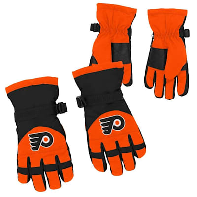 Both (Adidas Nylon Winter Gloves - Philadelphia Flyers - Youth)