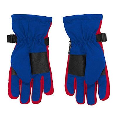 Back (Adidas Nylon Winter Gloves - New York Rangers - Youth)