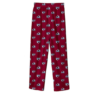 (Adidas Printed Pajama Pants - Colorado Avalanche - Youth)