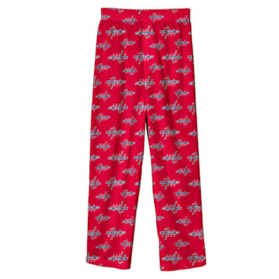 (Adidas Printed Pajama Pants - Washington Capitals - Youth)