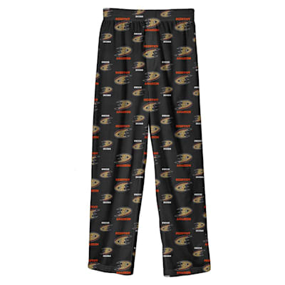 (Adidas Printed Pajama Pants - Anaheim Ducks - Youth)