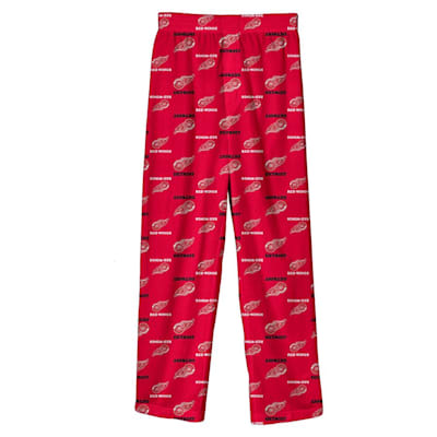 (Adidas Printed Pajama Pants - Detroit Red Wings - Youth)