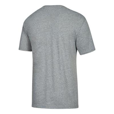 Back (Adidas NHL Property Short Sleeve Tee Shirt - San Jose Sharks - Mens)