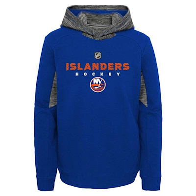 Front (Adidas Hyper Physical Hoodie - New York Islanders - Youth)