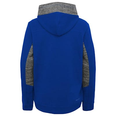 Back (Adidas Hyper Physical Hoodie - New York Islanders - Youth)