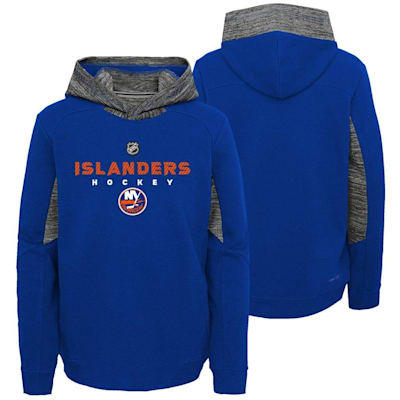 Front and Back (Adidas Hyper Physical Hoodie - New York Islanders - Youth)
