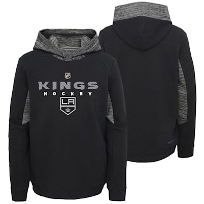 Front and Back (Adidas Hyper Physical Hoodie - Los Angeles Kings - Youth)