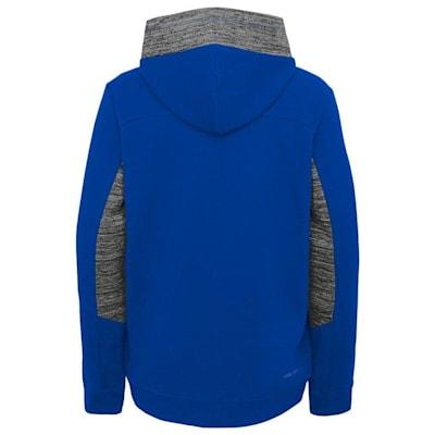 Back (Adidas Hyper Physical Hoodie - New York Rangers - Youth)