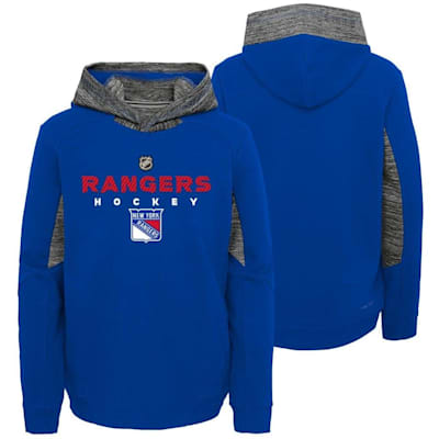 New York Rangers (Adidas Hyper Physical Hoodie - New York Rangers - Youth)