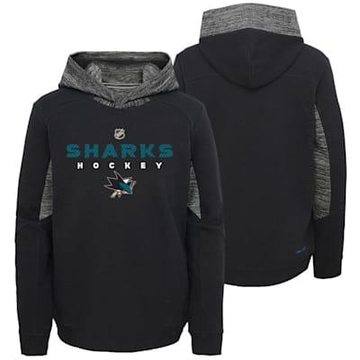 San Jose Sharks (Adidas Hyper Physical Hoodie - San Jose Sharks - Youth)