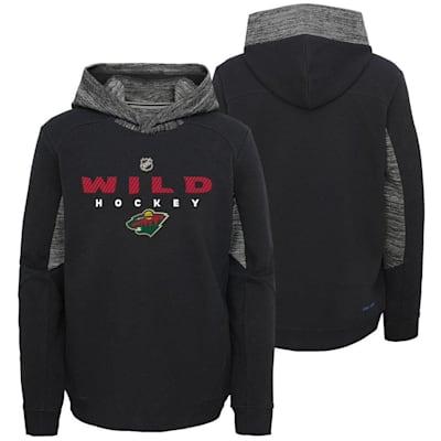 Minnesota Wild (Adidas Hyper Physical Hoodie - Minnesota Wild - Youth)