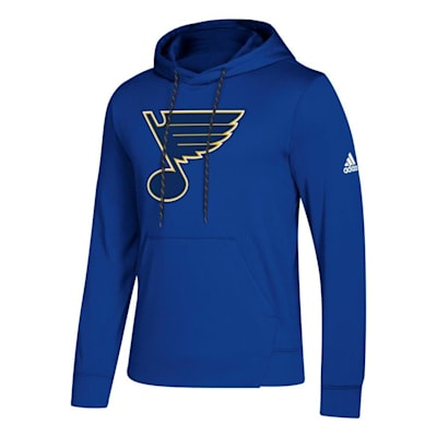 Front (Adidas NHL Performance Hoodie - St. Louis Blues - Mens)