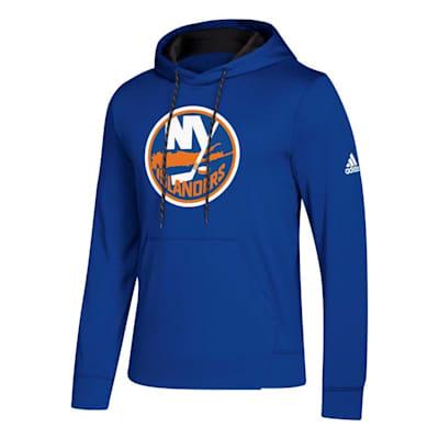 Front (Adidas NHL Performance Hoodie - New York Islanders - Mens)