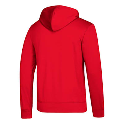 Back (Adidas NHL Performance Hoodie - Detroit Red Wings - Mens)