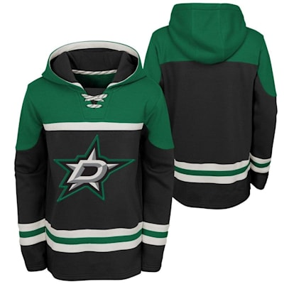 (Adidas Dallas Stars Asset Pullover Hoodie - Youth)
