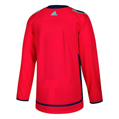 Back (Adidas Capitals Authentic NHL Jersey - Home - Adult)
