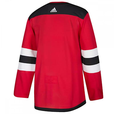 (Adidas New Jersey Devils Authentic NHL Jersey - Home - Adult)