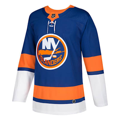 Front (Adidas New York Islanders Authentic NHL Jersey - Home - Adult)
