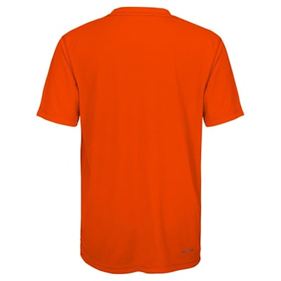 Back (Adidas Philadelphia Flyers Avalanche Short Sleeve Tee Shirt - Youth)