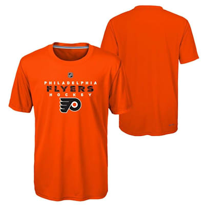 Philadelphia Flyers (Adidas Philadelphia Flyers Avalanche Short Sleeve Tee Shirt - Youth)