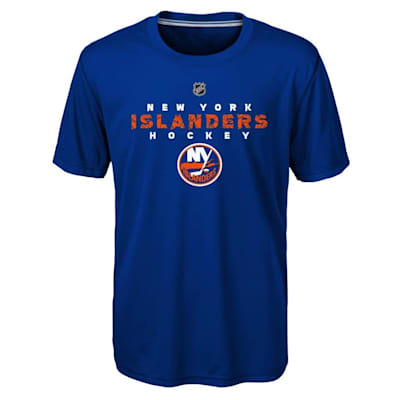 Front (Adidas New York Islanders Avalanche Short Sleeve Tee Shirt - Youth)