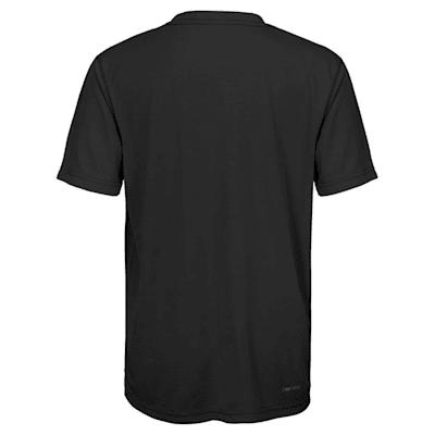 Back (Adidas Dallas Stars Avalanche Short Sleeve Tee Shirt - Youth)