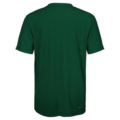 Back (Adidas Minnesota Wild Avalanche Short Sleeve Tee Shirt - Youth)