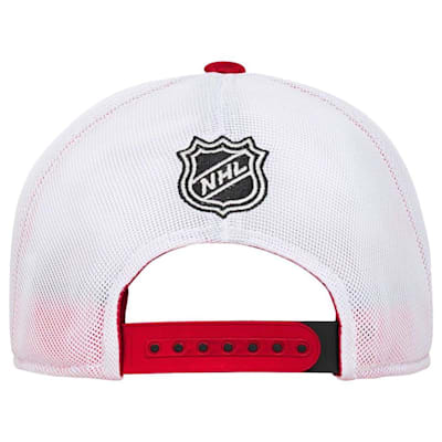 Back (Adidas Chicago Blackhawks Winger Youth Hat)