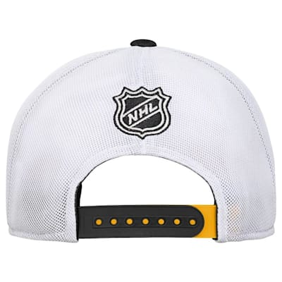 Back (Adidas Boston Bruins Winger Youth Hat)