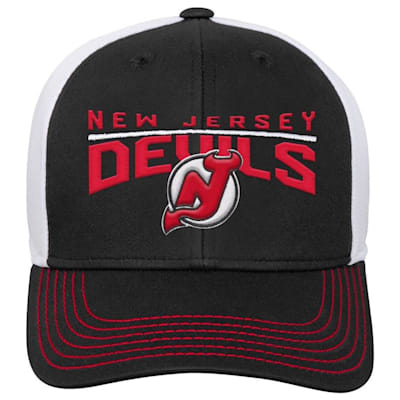 Front (Adidas New Jersey Devils Winger Youth Hat)