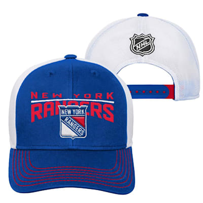 New York Rangers (Adidas New York Rangers Winger Youth Hat)