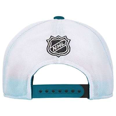 Back (Adidas San Jose Sharks Winger Youth Hat)