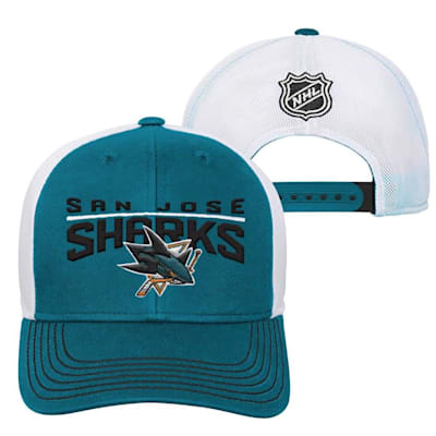 San Jose Sharks (Adidas San Jose Sharks Winger Youth Hat)