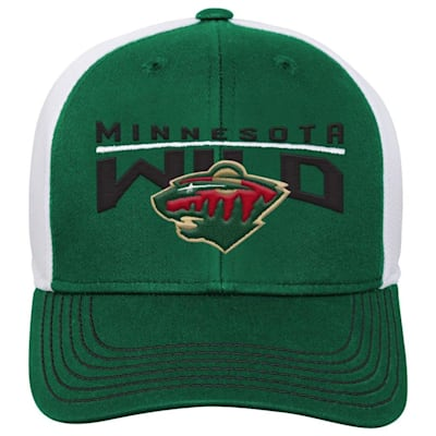 Front (Adidas Minnesota Wild Winger Youth Hat)