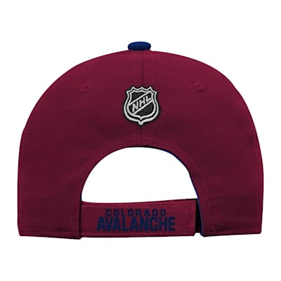 Back (Adidas Colorado Avalanche Basic Youth Hat)