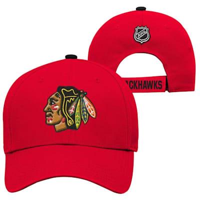 Chicago Blackhawks (Adidas Chicago Blackhawks Basic Youth Hat)