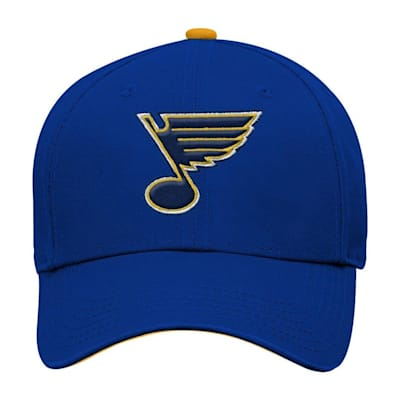 Front (Adidas St. Louis Blues Basic Youth Hat)