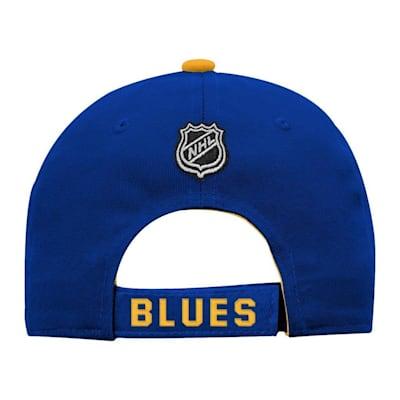 Back (Adidas St. Louis Blues Basic Youth Hat)