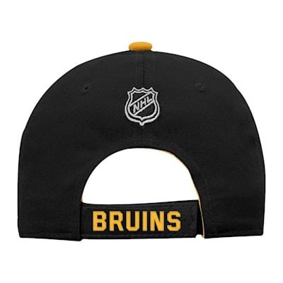 Back (Adidas Boston Bruins Basic Youth Hat)