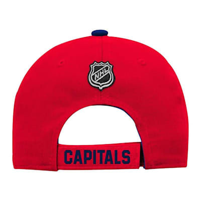 Back (Adidas Washington Capitals Basic Youth Hat)