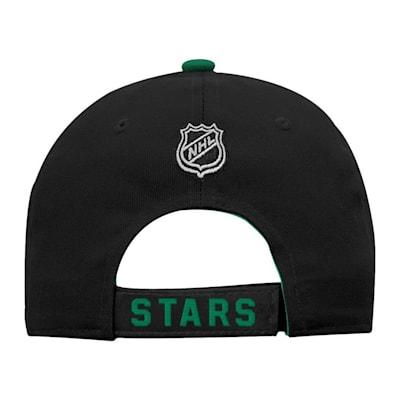 Back (Adidas Dallas Stars Basic Youth Hat)