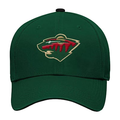 Front (Adidas Minnesota Wild Basic Youth Hat)